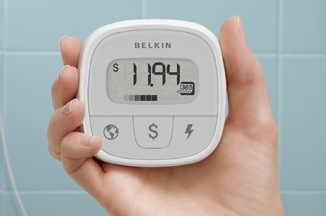 The Belkin Conserve energy cost monitor shows how much your devices cost you to operate.