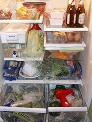 A well stocked fridge