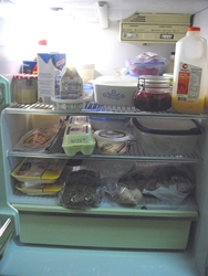 A well organized energy saving refrigerator