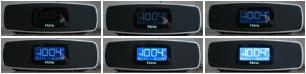 iHome Clock Radio - 8 brightness levels