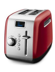 Kitchenaid 2 slice toaster with cool touch sides (that means insulation!)