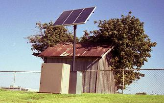 Solar power pros and cons. Cons: sometimes a bit cramped!
