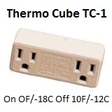 Thermo Cube TC-1 0F/10F, -18C/-12C