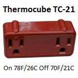 Thermo Cube TC-21 78F/80F, 26C/21C