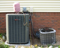 Old and new AC units